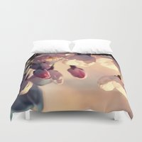 sakura Duvet Covers featuring sakura by italianblue