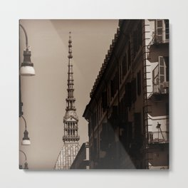 Beautiful view in the center of Turin Metal Print