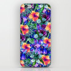 My Tropical Garden 9 iPhone Skin