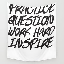 Practice, Question Wall Tapestry