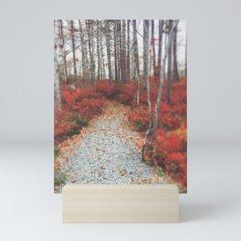 Autumn Wanderlust Mini Art Print