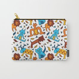 Crazy Animals Carry-All Pouch