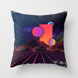 Dreamy Days Throw Pillow