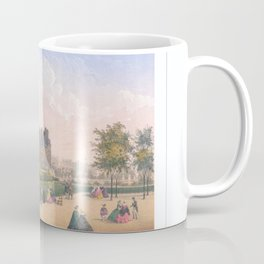 Les tuileries Paris France Coffee Mug