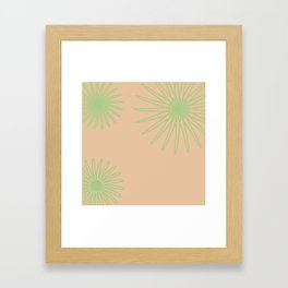 Celery and Camel Framed Art Print