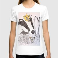 badger T-shirts featuring Badger by Meredith Sweeney