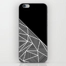B Rays Geo BW iPhone Skin