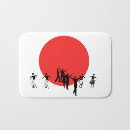 Dancing for Japan Bath Mat