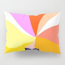 Girl Power - Rainbow Hair #girlpower Pillow Sham