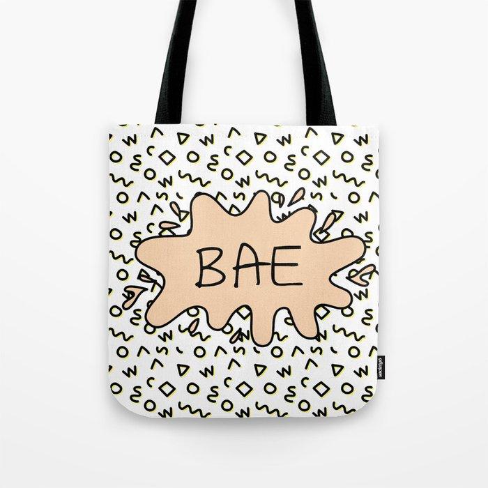 Bae Tote Bag