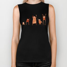 Monster Dance Party Biker Tank