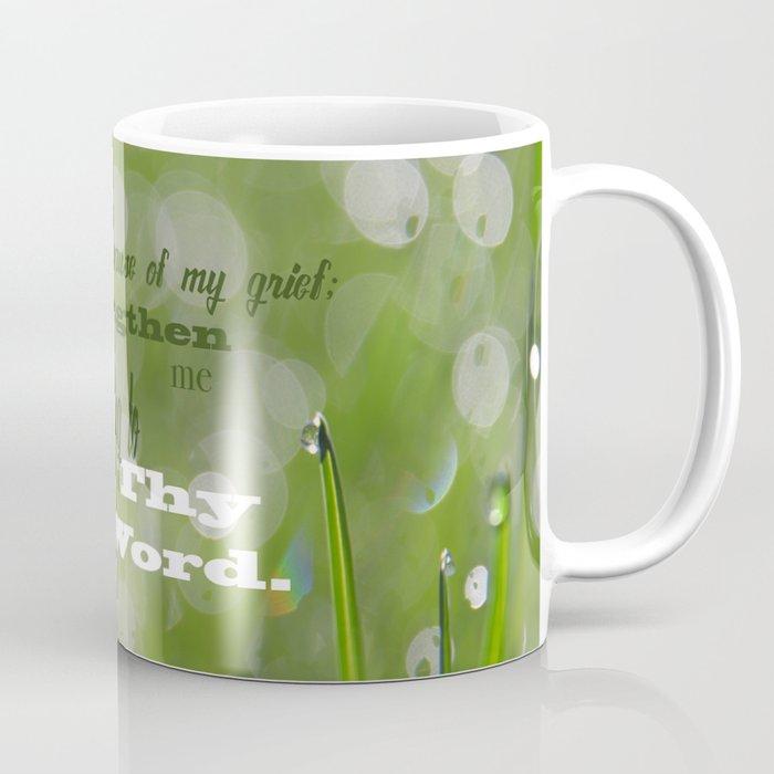 Psalm 119 Tears Coffee Mug