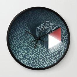 The Light Underneath Wall Clock