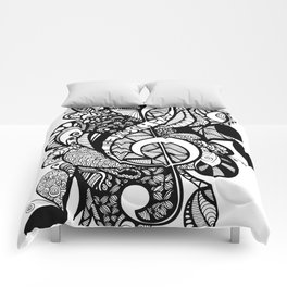 Let the music play! Comforters