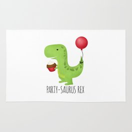 Party-Saurus Rex Rug