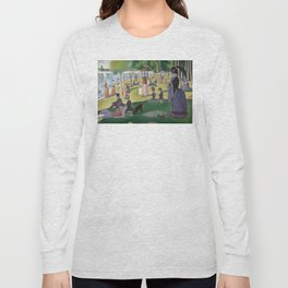 Georges Seurat - A Sunday Afternoon on the Island of La Grande Jatte Long Sleeve T-shirt