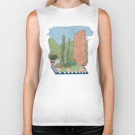 Cactus Garden Biker Tank