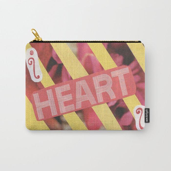 I Heart U. Carry-All Pouch