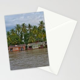 Life on the Mekong Stationery Cards