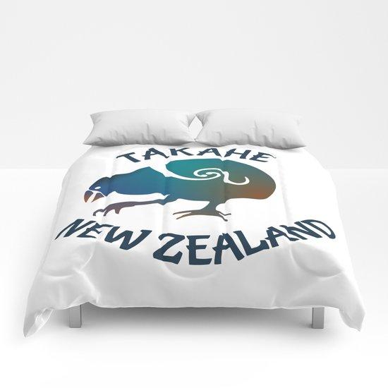 TAKAHE New Zealand Native bird Comforters