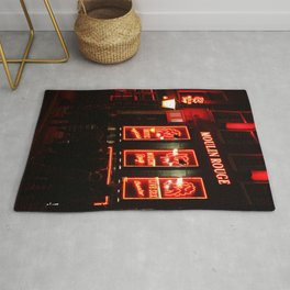 Red District Rug