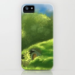 Riding with With a friend iPhone Case