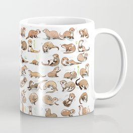100 otters Coffee Mug