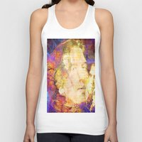 oscar wilde Tank Tops featuring Oscar Wilde by Ganech joe