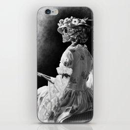 Lady Skeleton iPhone Skin