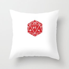 Dungeon RPG DND Gaming Tabletop Dragons Dice Games  Throw Pillow