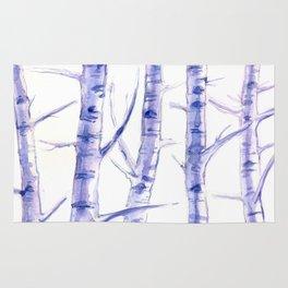 Birches I Rug