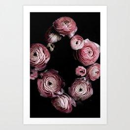 Blooming Geometry 1 Art Print