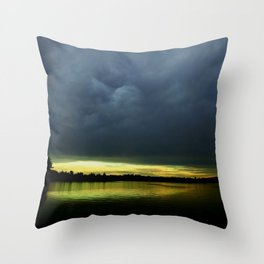 Mother Nature - Setting the mood Throw Pillow