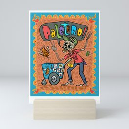 Day of the Dead PALETERO Sings with Angel Popsicles Mini Art Print