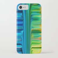 waterfall iPhone & iPod Cases featuring Waterfall by Bruce Stanfield