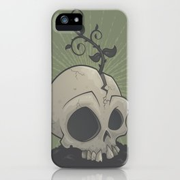 Skull Garden iPhone Case