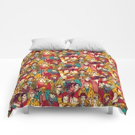 Bright people Comforters