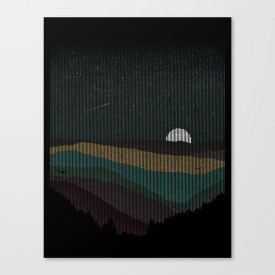 Moonrise (Color) Canvas Print