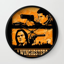 The Winchesters Wall Clock