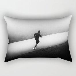A Run in the Park Rectangular Pillow