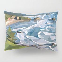 Geometric Cannon Beach Pillow Sham