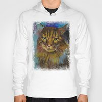 luna Hoodies featuring Luna by Michael Creese