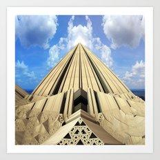 Pyramid of the Daylight Art Print