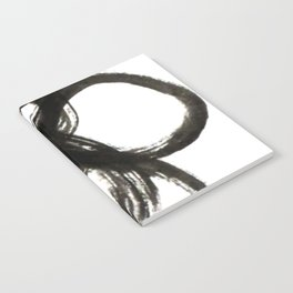 black curl Notebook