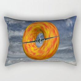 Donut Slice  Rectangular Pillow