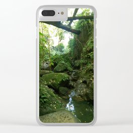 Monkey Forest III Clear iPhone Case