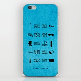 Wenworth Items iPhone Skin