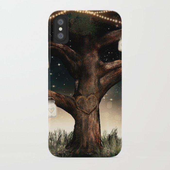 sale retailer d0e9f 9d270 Rustic Mason Jar Tree iPhone Case by christyne