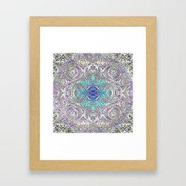 Psychedelic Ironwork Framed Art Print
