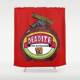 Deadite: The Evil Spread (Cap Off Version) Shower Curtain